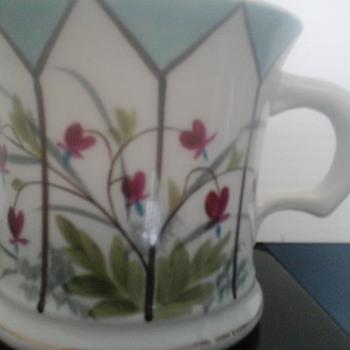 Floral Shaving Mug - Accessories