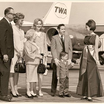 right out of Mad Men--glamorous air travel in the 1960's - Photographs