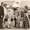 right out of Mad Men--glamorous air travel in the 1960's