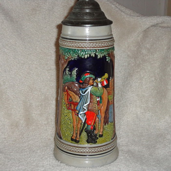 Old German Beer Stein - Breweriana