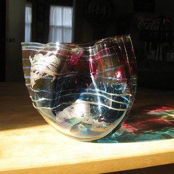 hand blown bowl?