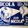 "Original 1930's ""Nicola"" Stone Lithograph Poster"