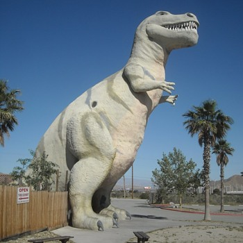 The Cabazon Dinosaurs - Animals