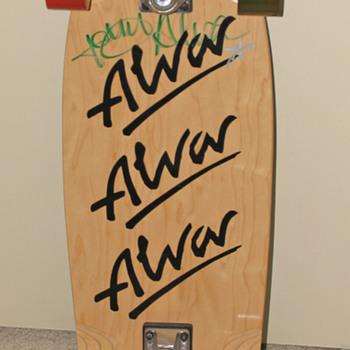 Autographed 'Tony Alva' Skateboard