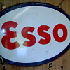 Esso steel oval