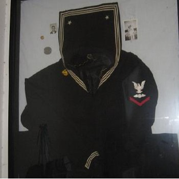 My Father's WWII Navy Uniform - Military and Wartime