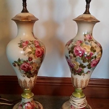 Rose Lamps Need Help Identifying