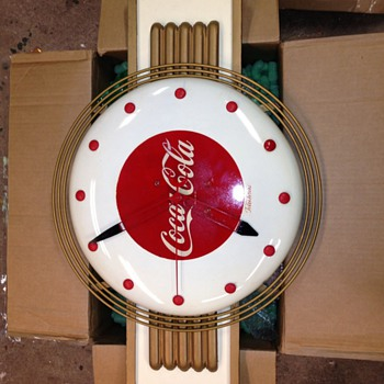 "Coke and ""wear like a pigs nose"" clocks"