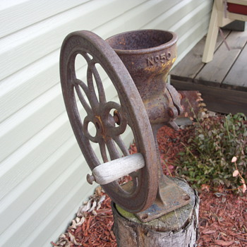 old coffee grinder ?