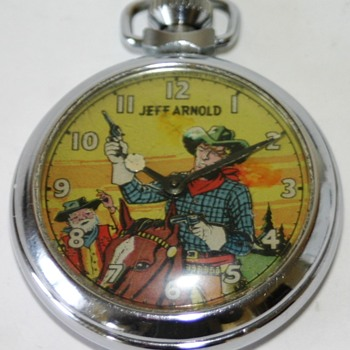 Jeff Arnold Pocket Watch.....Circa 1951 - Wristwatches