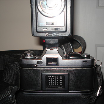 Old Minolta Camera given to me by my mother. - Cameras