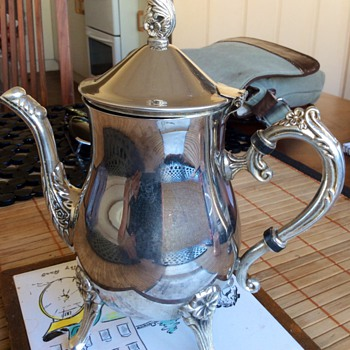Teapot not sure if silver maybe plated