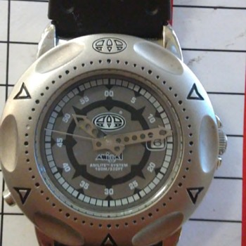 ANIMAL  BRAND WATCH   MODEL w014    help