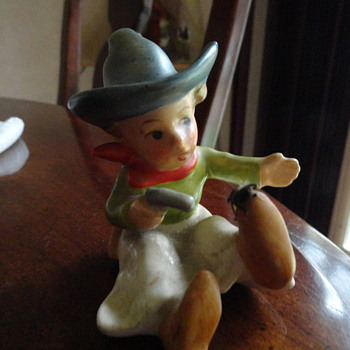 Little Cowboy Figurine