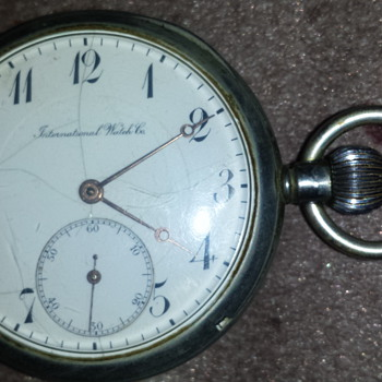 my grandpa's really old pocket watch - Pocket Watches