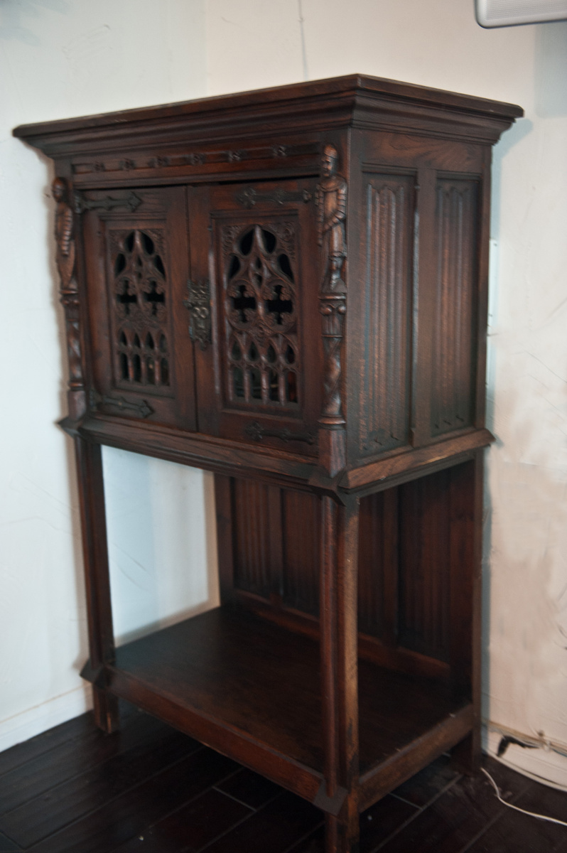 My Gothic Church Cabinet Collectors Weekly