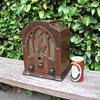Vintage Jackson Bell Tube Radio Peter Pan  Model 25 AV