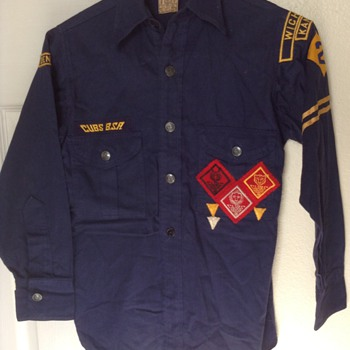 1940 Cub Scout uniform - Outdoor Sports