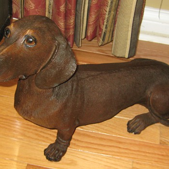 Life Size Dachshund Statue - Figurines