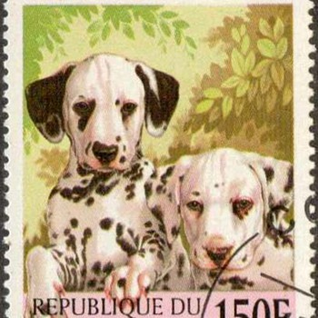 "1998 - Benin ""Dalmatians"" Postage Stamp"