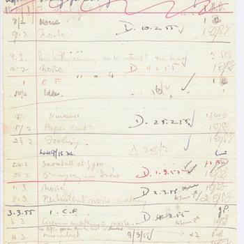 Double-Sided John Lennon School Detention Sheets