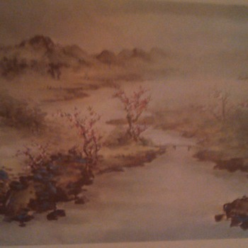 Chinese landscape prints