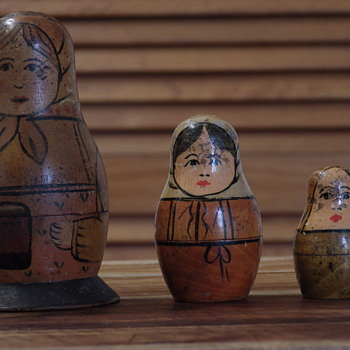 Antique Matryoshka doll (Babushka doll)
