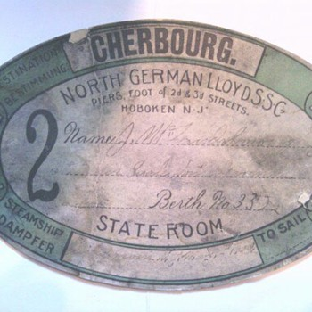 Steamer Dampher Boarding Pass