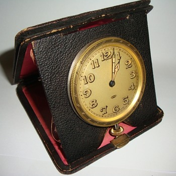 A. Letcoultre Sandoz Swiss Travel Clock - Clocks