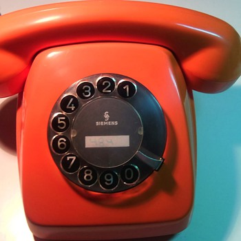 Vintage German Rotary Telephone
