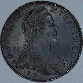 Original 1780 ( non restrike) Burgau Maria Theresa Thaler
