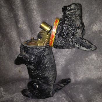 Scotty Dog Table Cigarette lighter