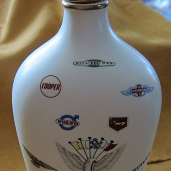 Auto - Art Pottery Bottle - Art Pottery