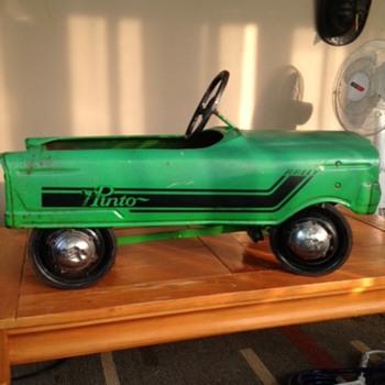 pinto pedal car