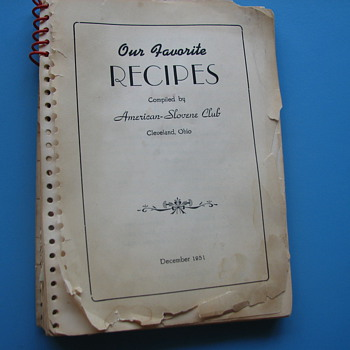 Old recipes books