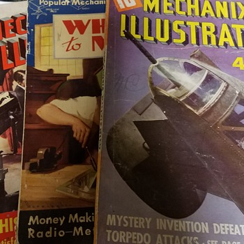 vintage mechanic magazines - Paper