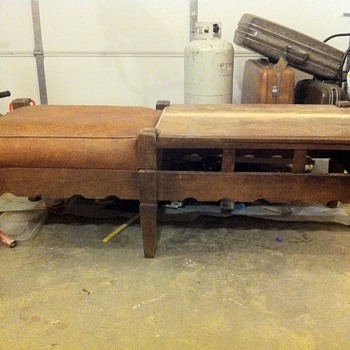Gossip bench / Cobbler table - Furniture