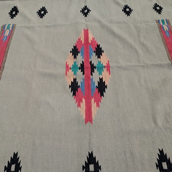 Native American Vintage Loom Blanket