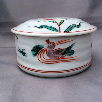 Lidded trinket  pot - China and Dinnerware