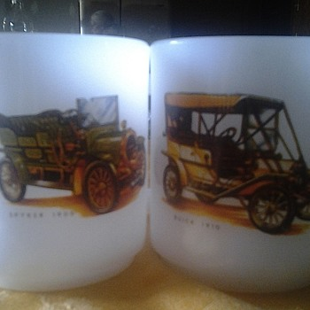 car mugs by hazel atlas? - Glassware