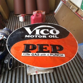 "Another 42"" VICO Sign"