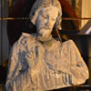 Sacred Heart of Jesus - sculpture/bust - ruins?
