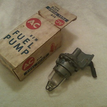 1962 Ford AC Fuel Pump All original Part Mint in original box