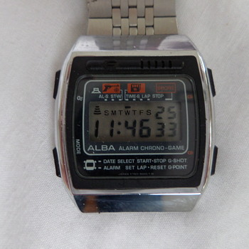 ALBA Y760-5000 game watch