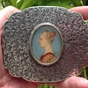 Italian Vintage Silver Compact