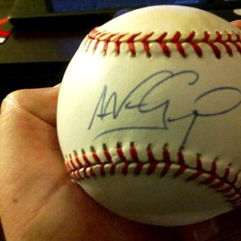 Who signed this Baseball?