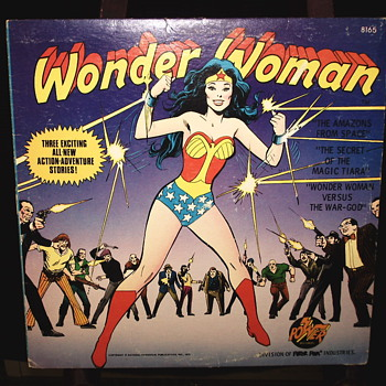 "Wonder Woman""3 Action Adventure stories""1975 - Records"