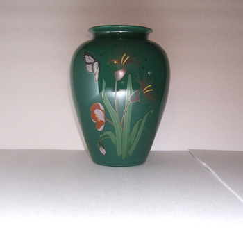 Cased Glass Vase - Glassware