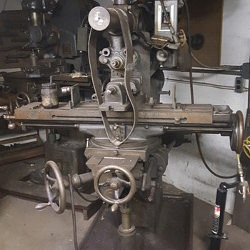 Steel Machine Shop Equipment- 100 years old from the S & R Machine Shop out of NY then Spring Hill, FL