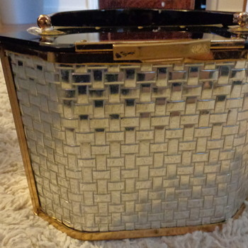 Vintage 1950's 'Majestic' Box Purse  - Womens Clothing